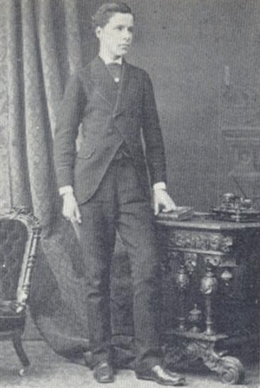Hellier R. H. Gosselin, aged 19 | Hertfordshire Archives & Local Studies, Hertfordshire Countryside, Vol.30, No.193