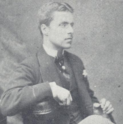 Hellier R. H. Gosselin as a young man | Hertfordshire Archives & Local Studies, Hertfordshire Countryside, Vol.30