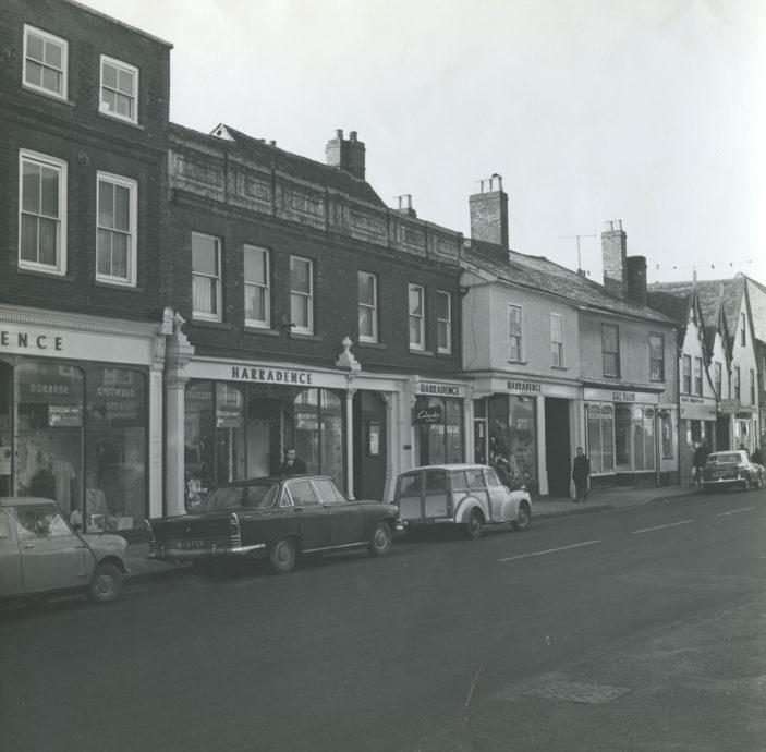 Harradence's department store, 1965