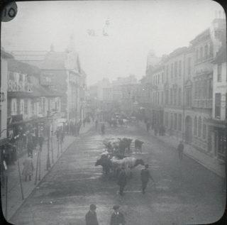 Hertford Cattle Market in Fore Street | Hertfordshire Archives and Local Studies, Mr. Elsdon, ref: H5/13
