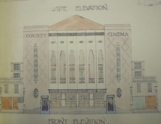 Architect's plans, 1933 | Hertfordshire Archives & Local Studies, ref Off Acc 1215