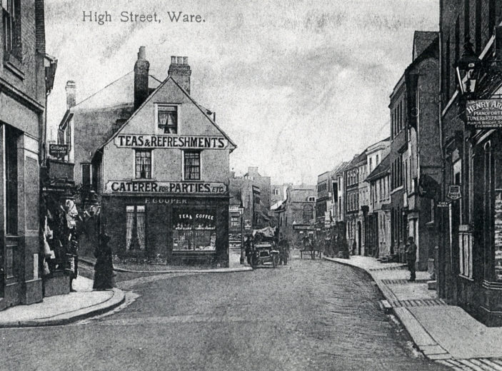 The High Street - looking south | Hertfordshire Archives and Local Studies
