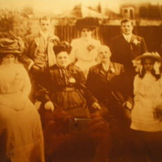 Wedding of Annie Nicholls Cowbridge 1910 | Michael Nicholls, Ware