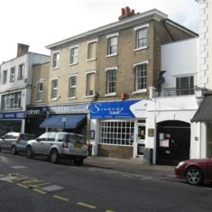 The building remains much the same in 2010 and now houses Jenner's Newsagent and Stowaway Travel   Fiona MacDonald