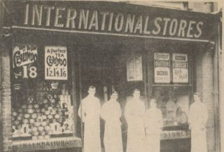 The International Stores at the end of the 19th century
