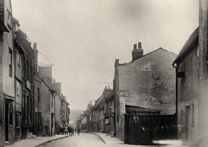 The original Harrow in Kibes Lane, 1936 | Hals