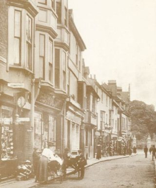 Maidenhead Street, c. 1912, looking towards the new Castle Gates, opened by the Marquess of Salisbury on 27 July 1912