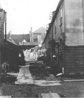Maidenhead Yard in the early 20th century