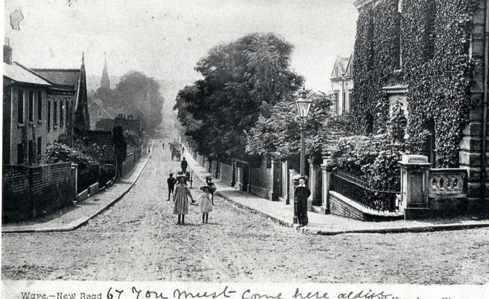 New Road - looking towards The Town | Hertfordshire Archives and Local Studies
