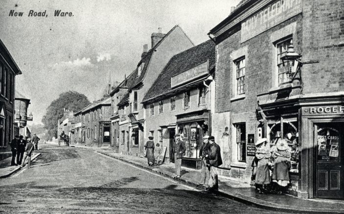 New Road - from The Town | Hertfordshire Archives and Local Studies