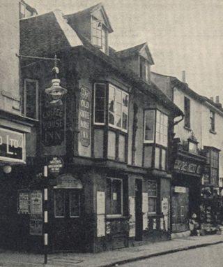 The Old Coffee House Inn on the corner of Honey Lane