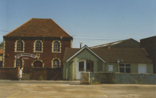 1980s, showing the old fire station next door | Hertfordshire Archives & Local Stusies, CV/WAR