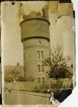 Old water tower in Bengeo