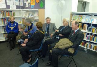 Various dignitaries | Dave Hewitt, Vice Chairman HCC