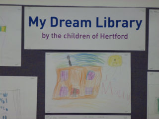 Display of children's work | Dave Hewitt, Vice Chairman HCC