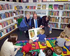 Opening of the New Hertford Library, 19th January 2012
