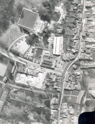 Aerial Photograph of Junction | (c) HALS
