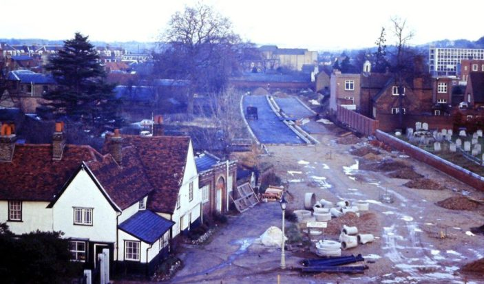 Bypass being constructed | (c) Joan Flack