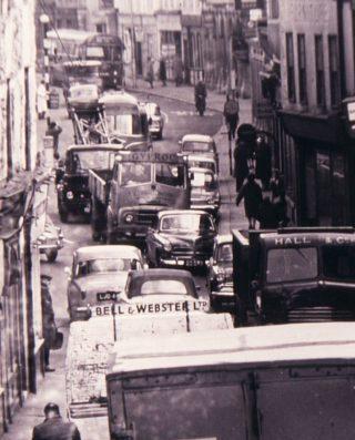 Traffic Congestion   (c) Peter Ruffles