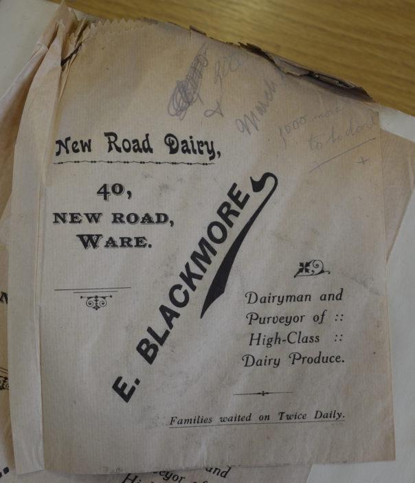 A paper bag from 1916 | Hals D/EX275