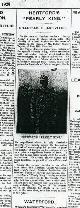 Newspaper report | Courtesy Hertfordshire Archive and Local Studies