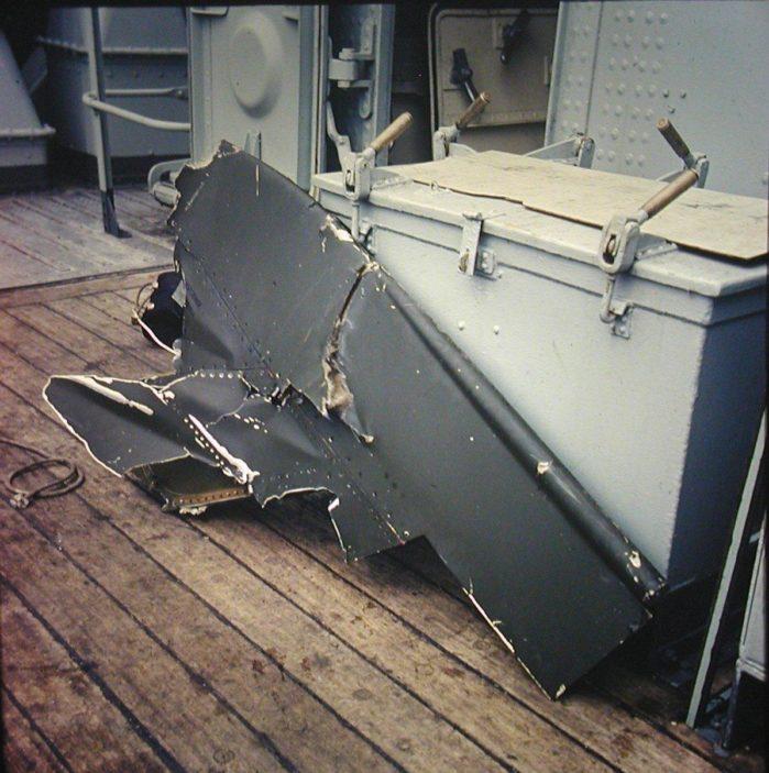 Piece of US Phantom fighter