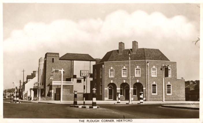 The Plough in 1949 | Hertfordshire Archives & Local Studies. Library collection