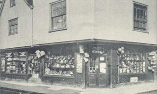 Pratt's toy warehouse before it was rebuilt