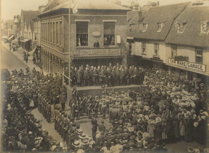 Proclamation of George V in Ware