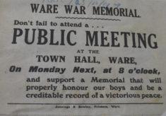 The Ware War Memorial