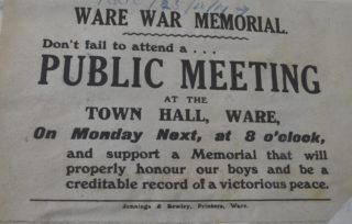 Notice for a public meeting | HALS D/EX 275/B6