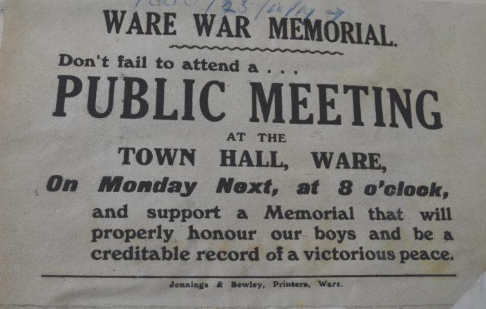 Notice for a public meeting   HALS D/EX 275/B6
