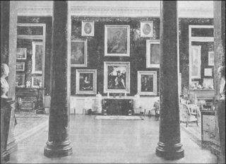 The Picture Gallery at Panshanger & BEHIND THE GREEN BAIZE DOOR IN 18TH CENTURY FLORENCE | Hertford and ...