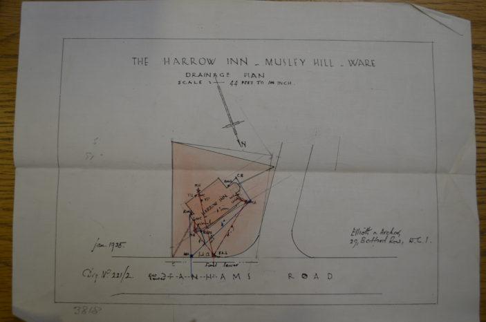 Architect's plans, 1935 | Hals