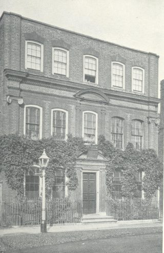 The fine building now known as Yeomanry House as it was in the early 20th century
