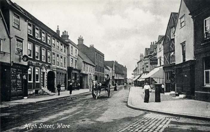 The High Street - from New Road | Hertfordshire Archives and Local Studies