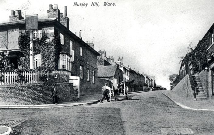 The Rifle Volunteer - Musley Hill | Hertfordshire Archives and Local Studies