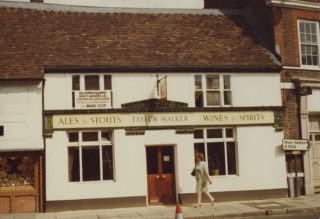 Newly opened as Ben's Brasserie, 1981 | Hertfordshire Archives and Local Studies