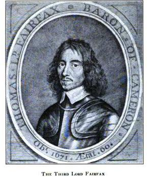 Sir Thomas Fairfax | From an old print