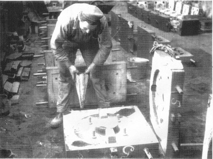 Tony Wren, iron moulder