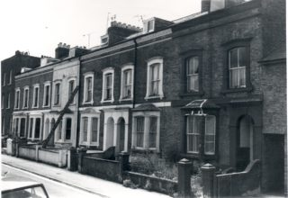 4, Villiers Street (the first house) c. 1970