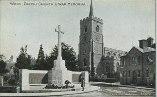 War memorial, c1925 | HALS Library collection