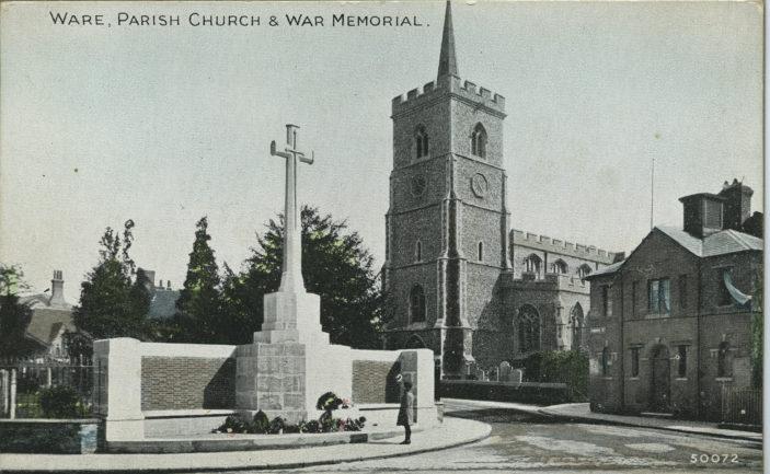War memorial, c1925   HALS Library collection