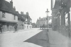 Wackett's cycle shop can be seen on the right of this photograph