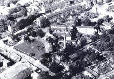 Aerial view of Ware