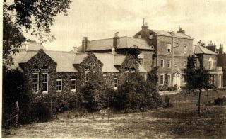 Ware Grammar school buildings c1914 | Hertforedshire Archives and Local Studies