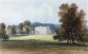 A view in the 1820s | Hals (Clutterbuck)