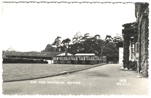 The Sanatorium grounds showing the huts, 1930s