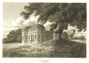 Ware Park in 1812 | Hals