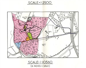 Map of the estate, 1980 | Hals